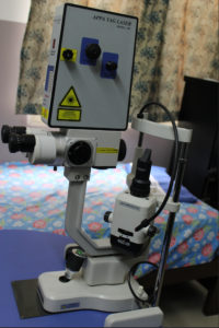 Laser YAG Unit For Glaucoma & Cataract - Sunayana Eye Hospital