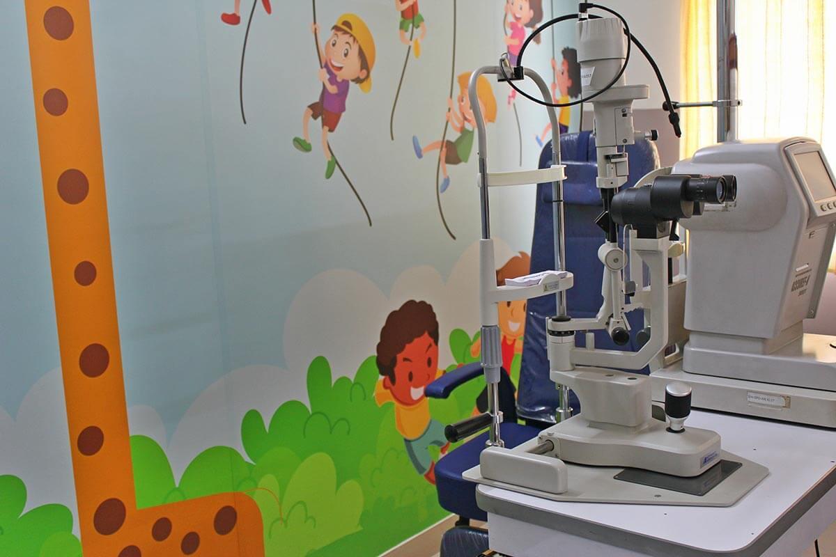 Paediatric Opthalmic OPD - Sunayana Eye Hospital
