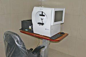Visual Field Analyser (Glaucoma) Sunayana Eye Hospital